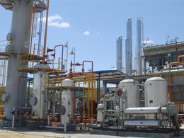 天然气脱烃、液化干燥脱水装置