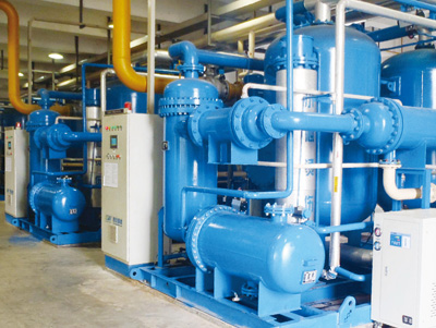 压缩热零气耗脱水装置干燥器