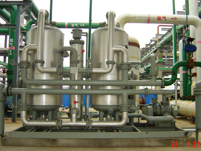 Industrial process gas