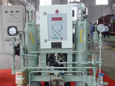 Ship high-pressure gas purification equipment